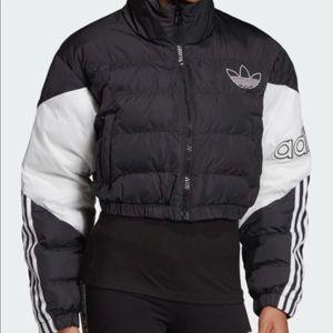 Adidas cropped jacket.  New